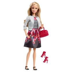 Poupée Barbie Style jupe fleurie