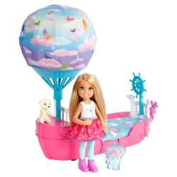 Poupée Barbie Chelsea et son voilier