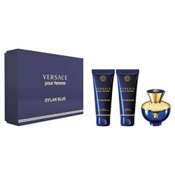 Set de Parfum Femme Dylan Blue Versace (3 pcs)