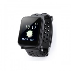 "Montre intelligente 1,44"" LCD Bluetooth Noir"