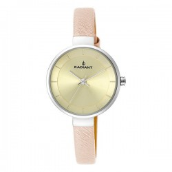 Montre Femme Radiant Cuir Champagne (28 mm)