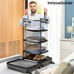 Étagère de rangement pliable portative pour bagages