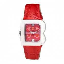 Montre Femme Laura Biagiotti Cuir Rouge (33 mm)