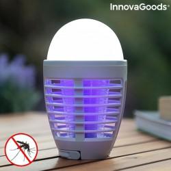 Lampe Anti moustiques Rechargeable à LED 2 en 1