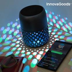 Lampe LED Rechargeable avec Haut-Parleur Bluetooth