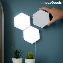 Ensemble de Panneaux LED Modulaires Magnétiques et Tactiles