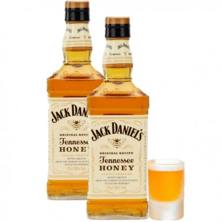 Coffret Whisky Jack Daniel's Honey - 35%