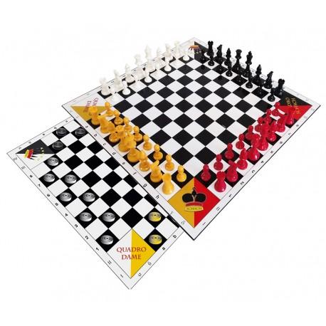 Jeu d'échecs et de dames