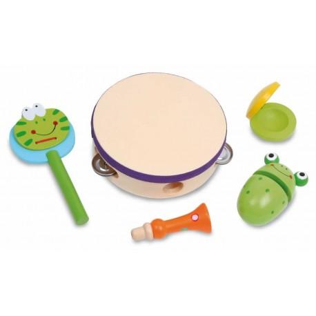 Assortiment d'Instruments en Bois (+3 ans)
