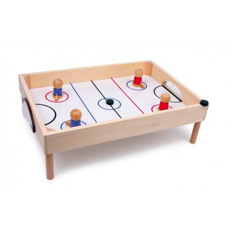 Hockey Sur Table en Bois