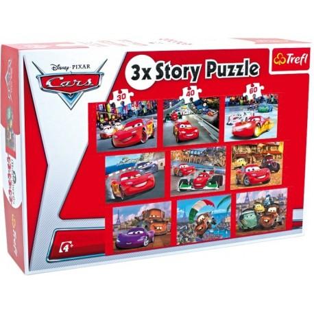 Puzzle Cars 3 en 1