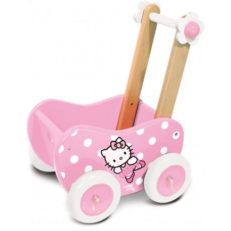 Landau à pousser en Bois Hello Kitty (+2 ans)