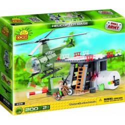 Jeu de Construction Base Helicoptère