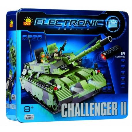 Jeu de Construction Tank Electronique