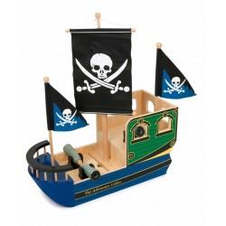 Bateau de Pirate en Bois (+3 ans)