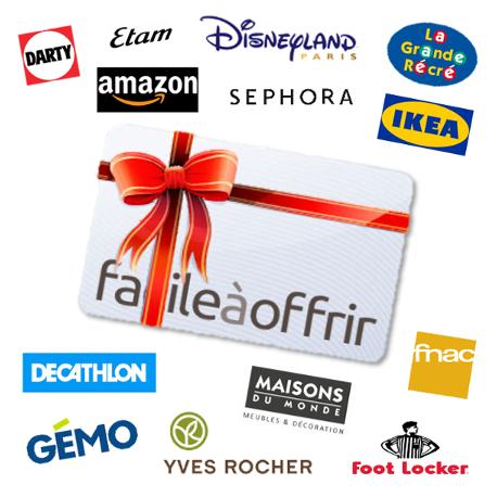 Cartes Cadeaux Partenaires