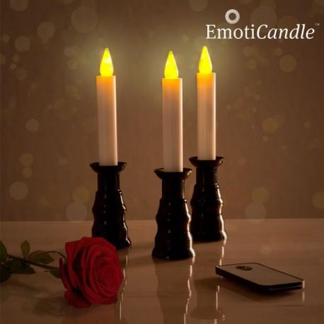 Bougies LED Romantiques