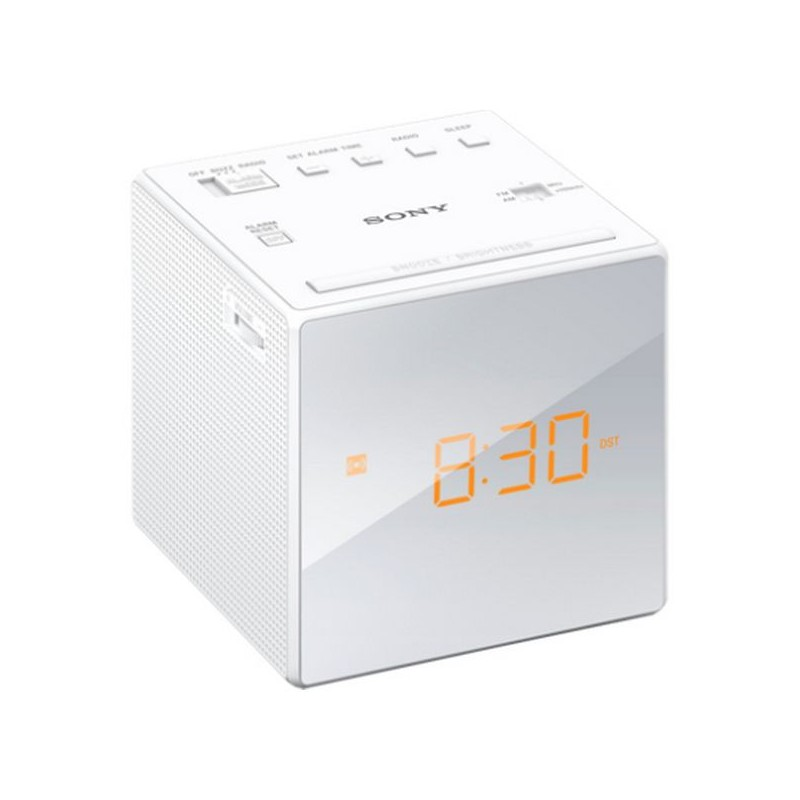 Radio Réveil Sony Blanc à 49.9€ TTC Livraison Comprise