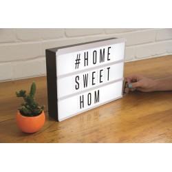 LightBox LED - Boîte Lumineuse à Messages
