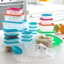 Boites à lunch + Accessoires (31 pièces)