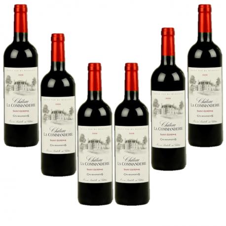 Saint-Estèphe cru bourgeois - Lot 6 bouteilles