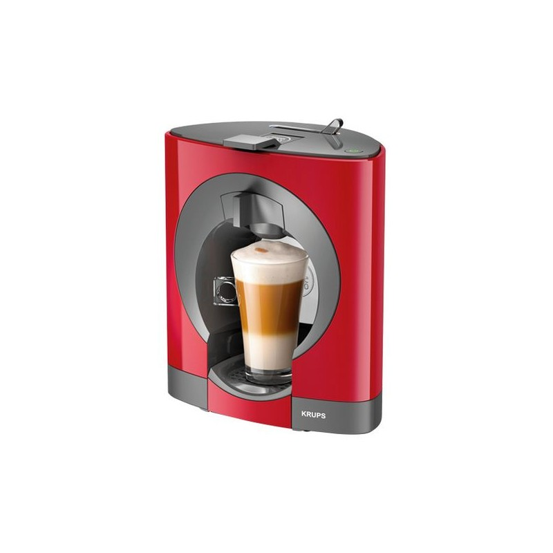 cafetiere a capsules krups kp1105 oblo dolce gusto 15 bar 0 6 l 1500w rouge. Black Bedroom Furniture Sets. Home Design Ideas