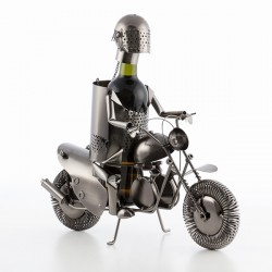 Porte-bouteilles metallique Motard by Homania
