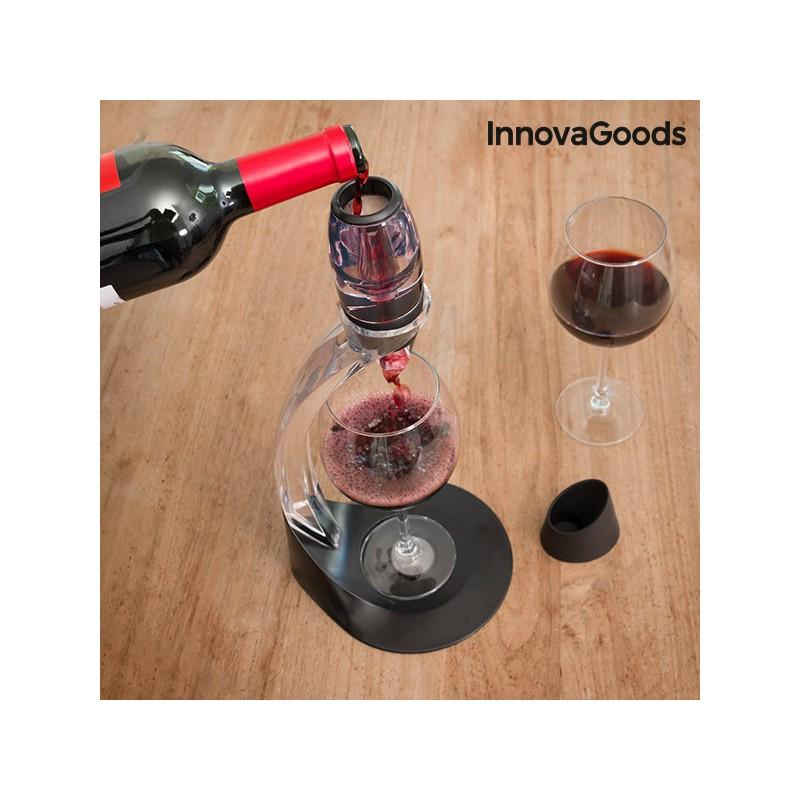 decanteur de vin professionnel innovagoods kitchen sommelier. Black Bedroom Furniture Sets. Home Design Ideas