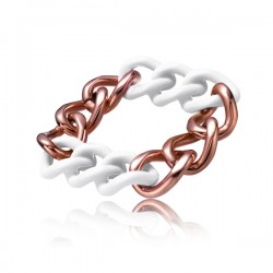 Bracelet Femme Time Force Bronze/Blanc