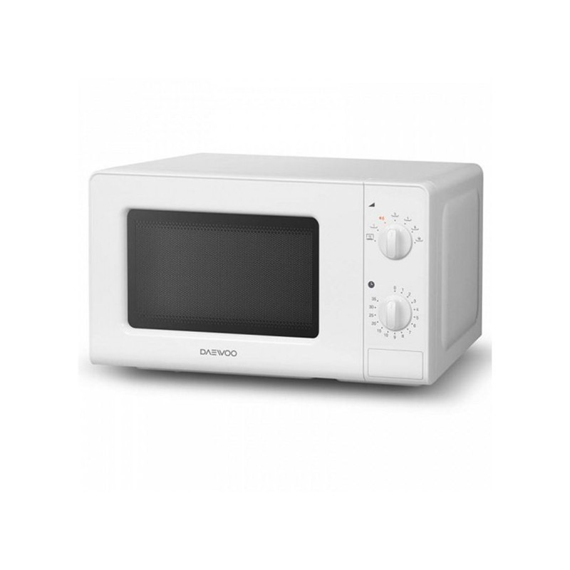 micro ondes daewoo kor 6f07 20 l 700w blanc. Black Bedroom Furniture Sets. Home Design Ideas