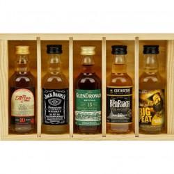 Coffret Whisky - 5 Mignonnettes