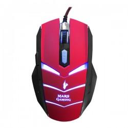 Souris Gaming Tacens USB Noir Rouge