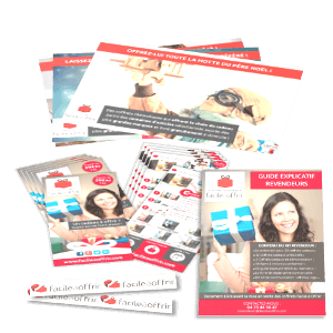 Affiches, flyers, brochures, stickers
