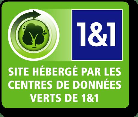 Hebergement Vert Ecoresponsable 1&1