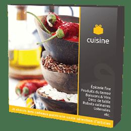 Coffret Cadeau Cuisine & Gastronomie