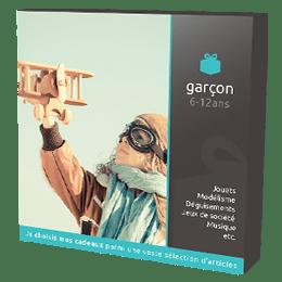 Coffret Cadeau Garçon 6-12 ans